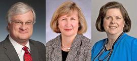 Bill Dorris, Maureen Sheehy and Diane Prucino