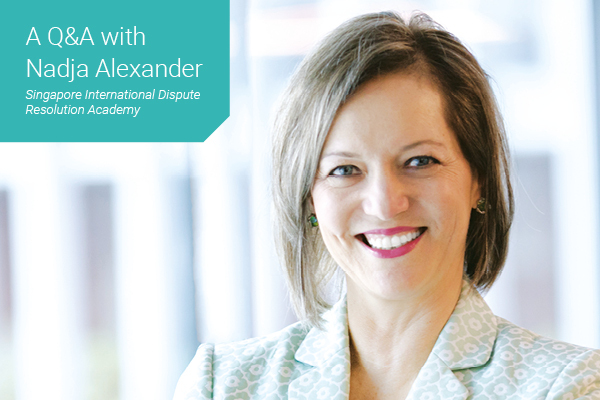 Women in Law - Thought Leader Q&A with Nadja Alexander