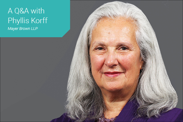 Women in Law - Thought Leader Q&A with Phyllis Korff