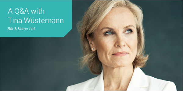 Women in Law - Thought Leader Q&A with Tina Wüstemann