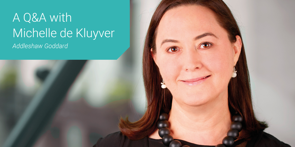 Women in Law - Thought Leader Q&A with Michelle de Kluyver