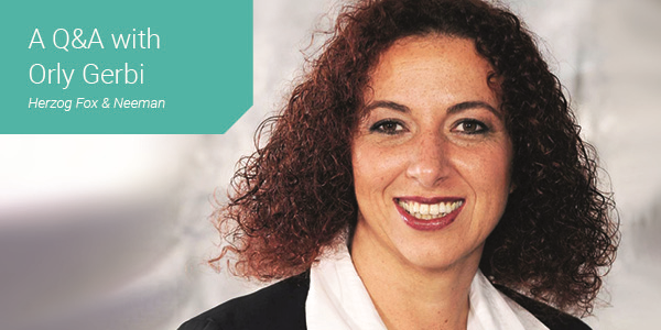 Women in Law - Thought Leader Q&A with Orly Gerbi