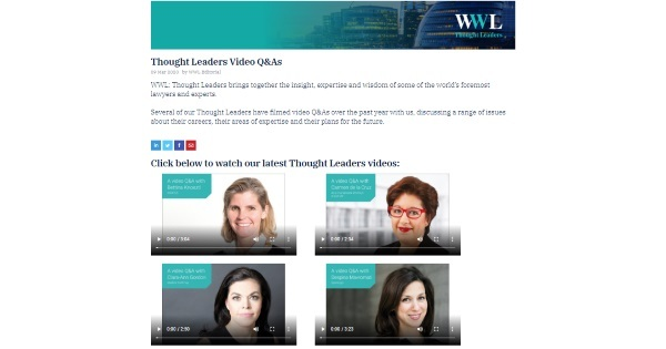 Thought Leaders Video Q&As